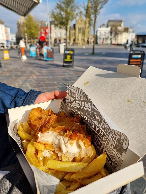 fish and chips caernarfon