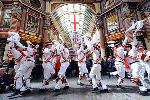 danca tradicional da inglaterra