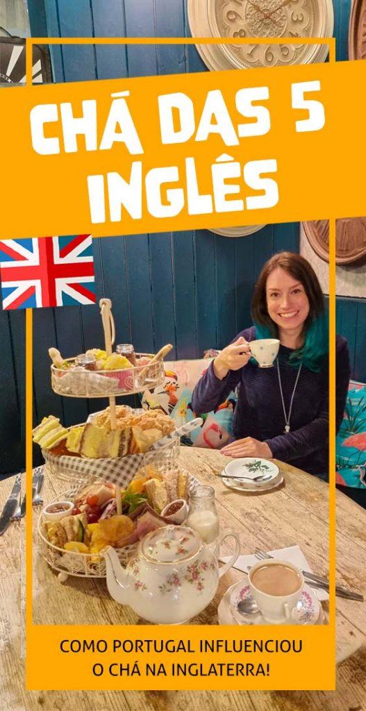 Tradição tomar chá das 5 na Inglaterra