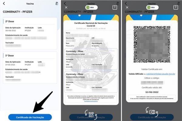 Como emitir o certificado de Vacinação Coronavírus pelo App ConecteSus