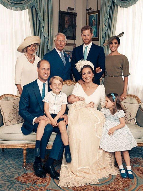 retrato familia real sem rainha