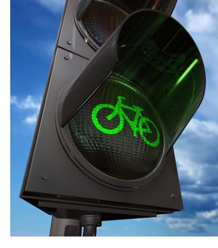 Onda verde para bicicletas