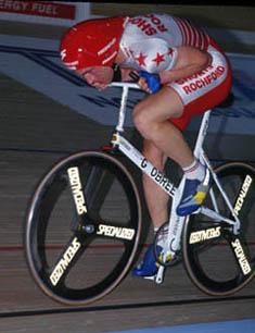 Graeme Obree em 1994. Foto: Wikipedia