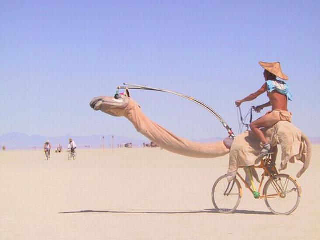 pedalar no calor