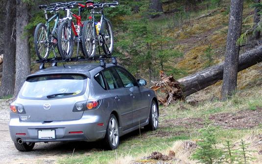 transportar bicicleta no carro