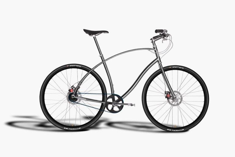Bicicleta de titânio