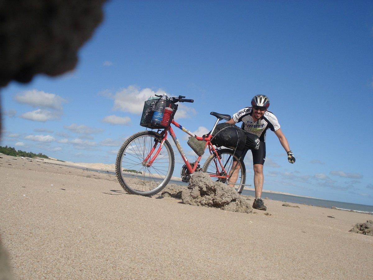 primeira viagem de bicicleta: parnaiba a jericoacoara