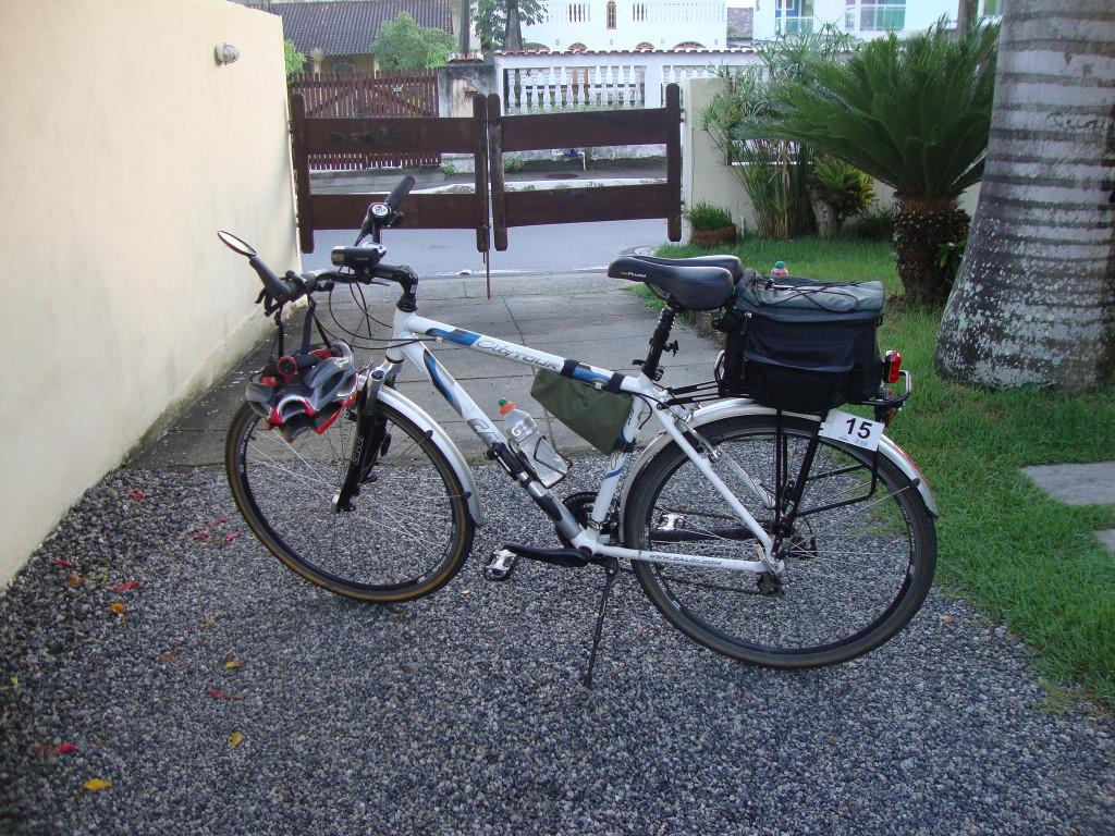 Joelma, minha bike, pronta para a prova