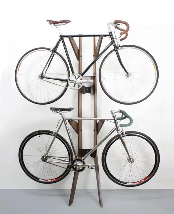 Bike e decoração: cavalete para bicicletas
