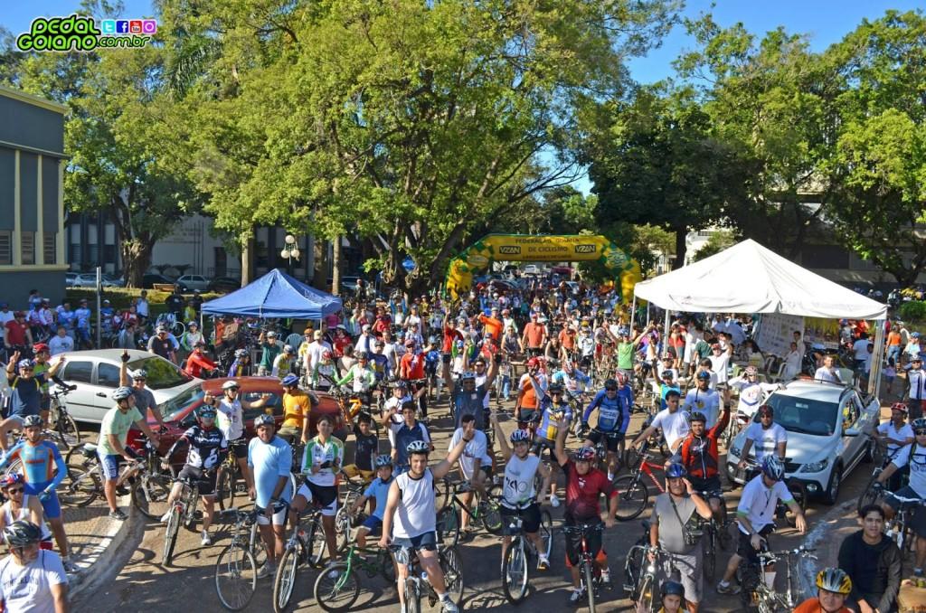 Evento Pedala Goiânia. Foto: Pedal Goiano