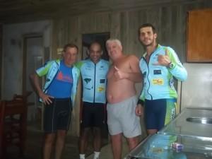 Joci, Fábio, Seu Braz e Rafael