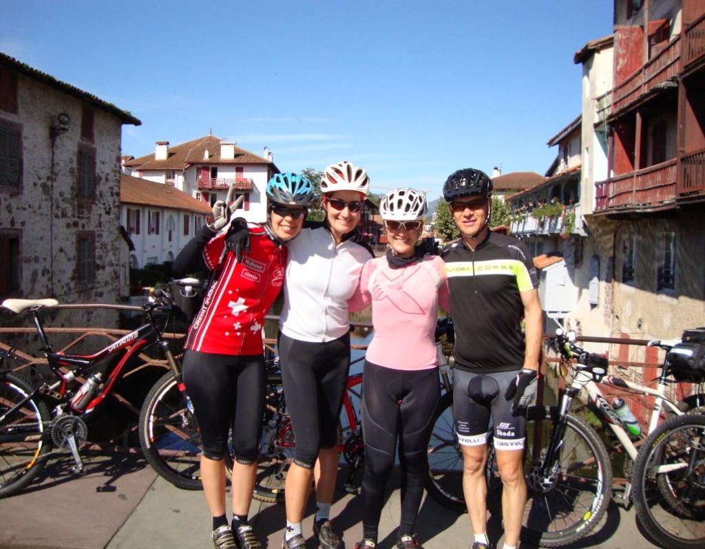 Santiago de Compostela de bike