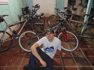 Kiko Molinari e suas Bikes