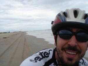 Pelo litoral do Piauí, em 2009.