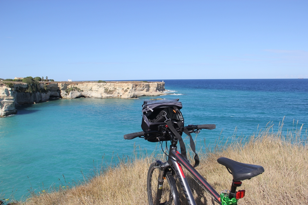 Cicloturismo na região da Puglia - Itália