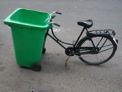 Lugar de lixo é no lixo