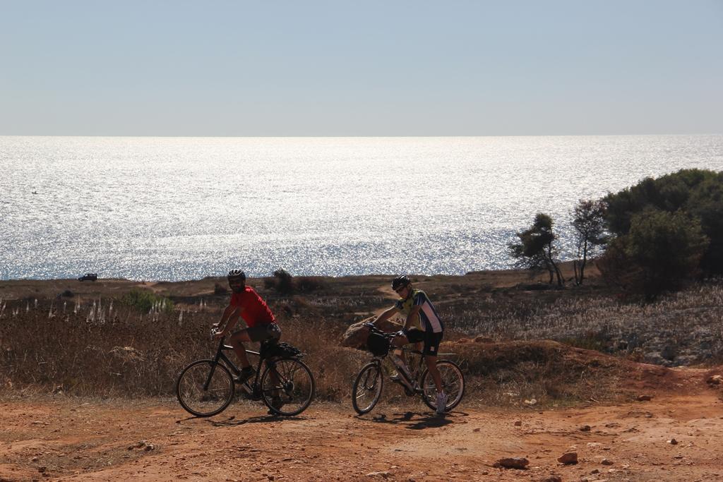 O belo mar na saída de Otranto
