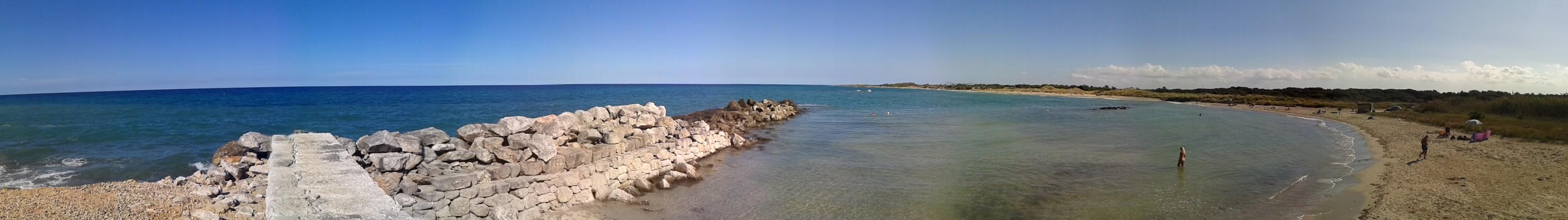 Nosso primeiro banho no Mar Adriático