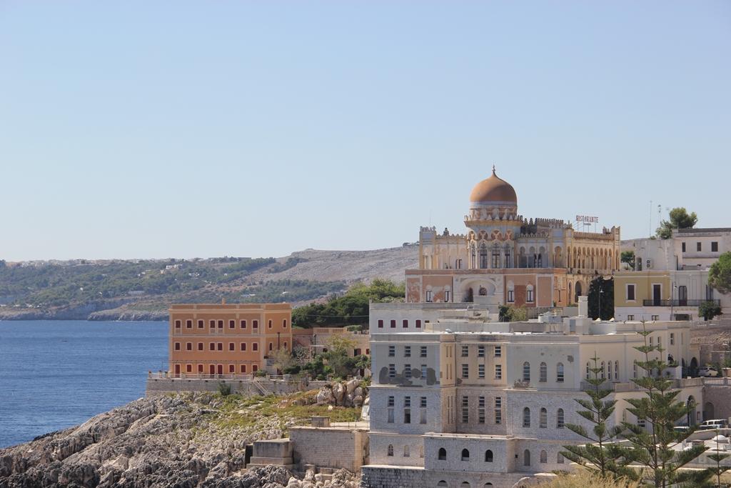 A bela vista de Santa Cesarea Terme