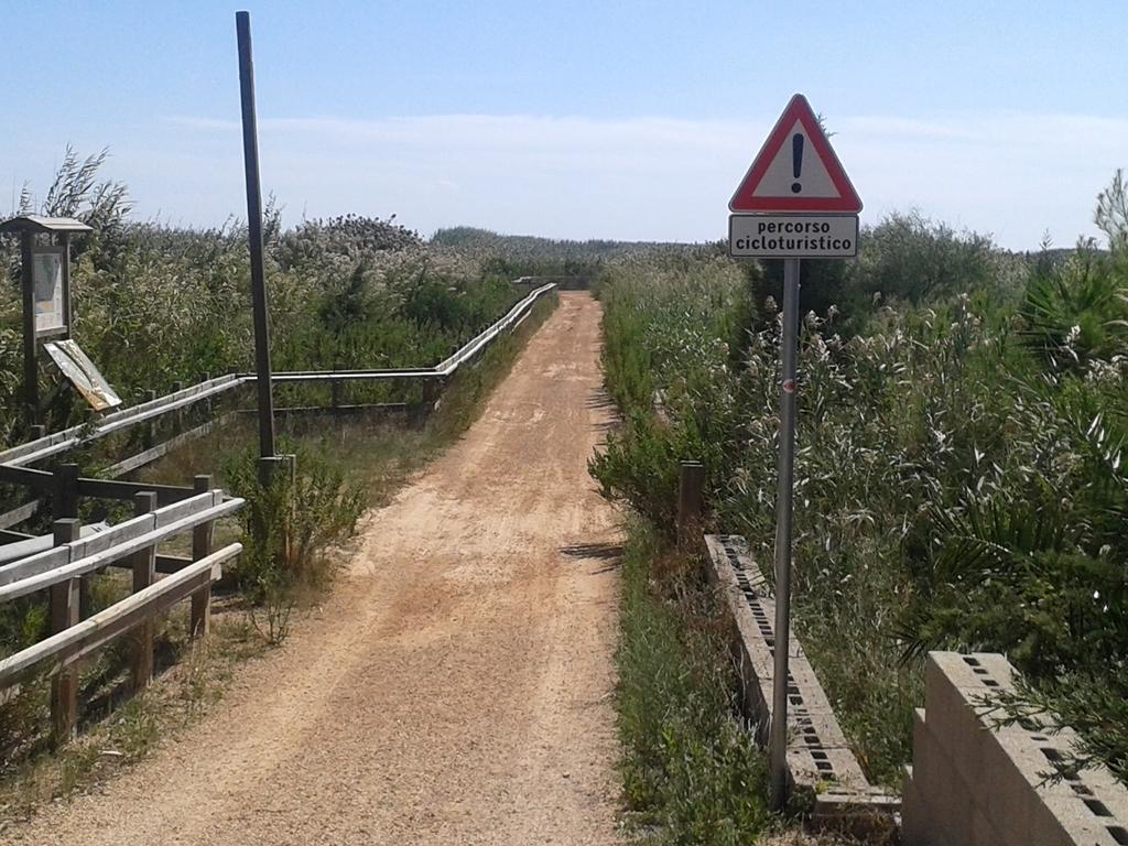 Um dos muitos percursos cicloturísticos...