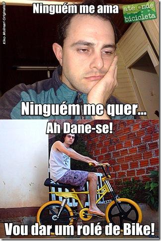 Bike MemesKiko Da Depressão - kd meu par - Bike 2