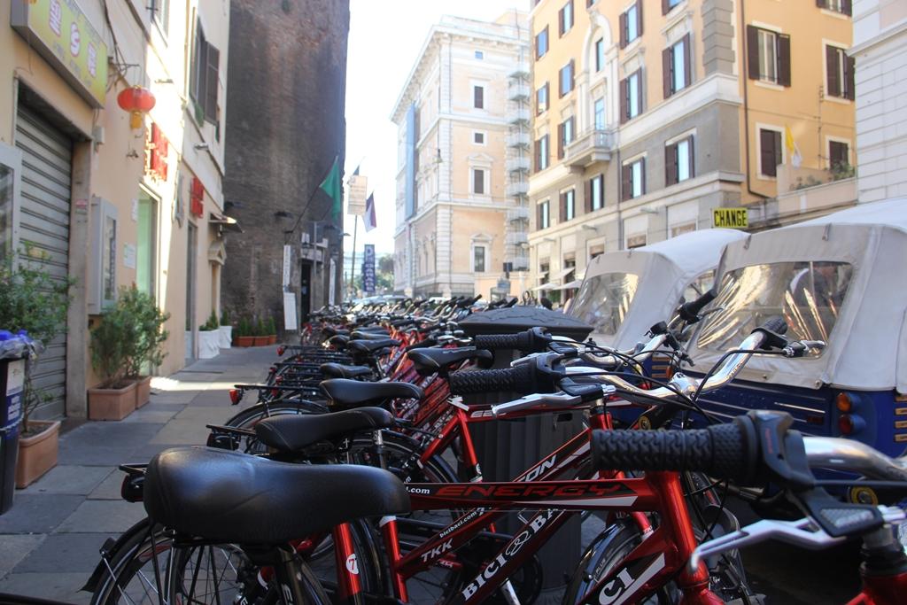 Bikes para alugar em Roma...