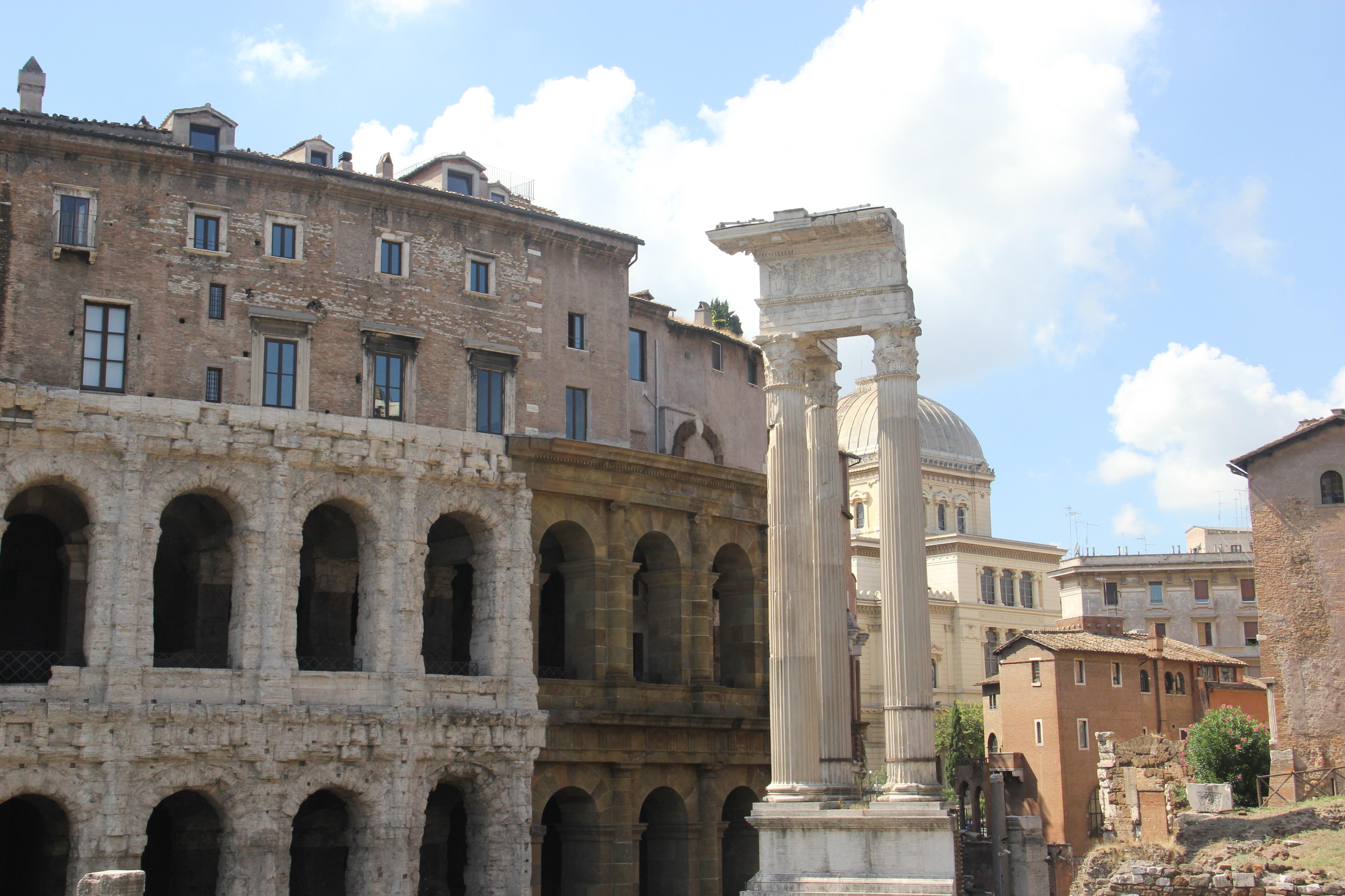 Teatro di Marcello. Foto: André Schetino