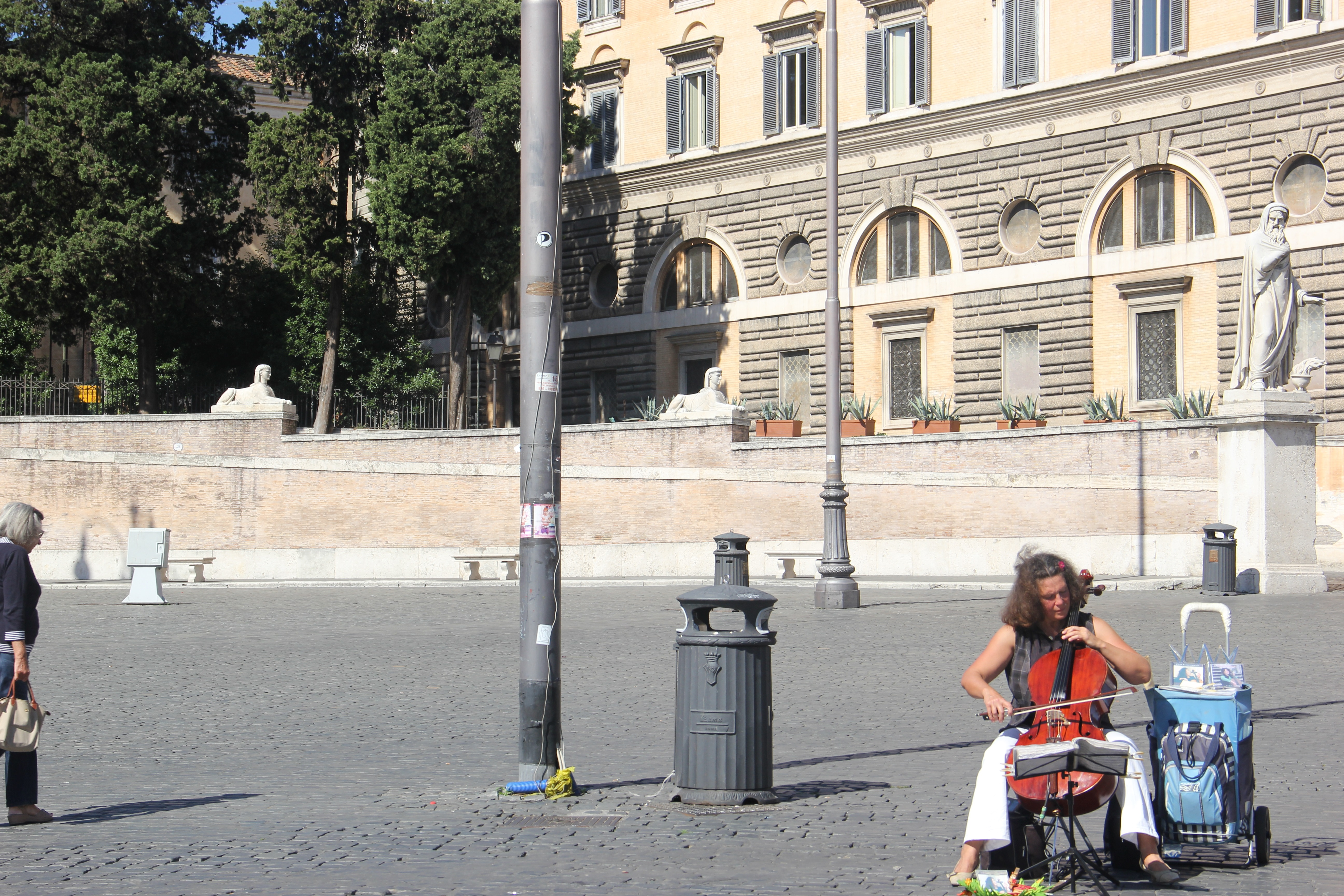 Piazza del Popolo. Foto: André Schetino