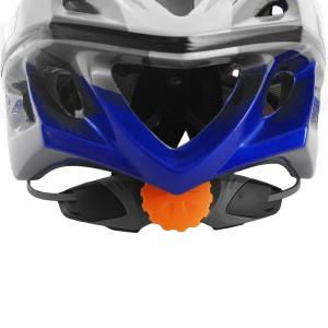 Regulagem de cabeça na parte traseira do capacete