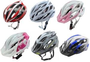 capacete de ciclismo aberto