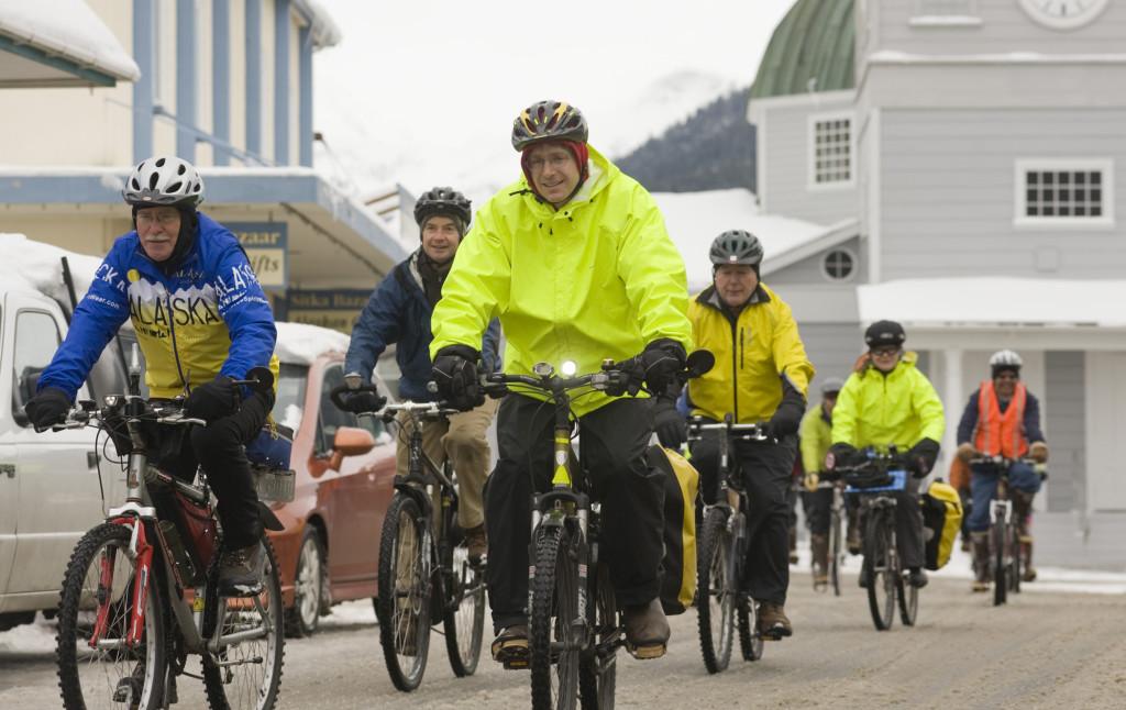 pedalar em grupo