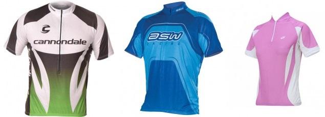 Equipamentos de ciclismo: camisas