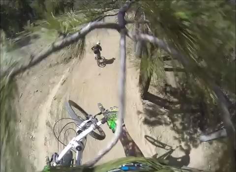 salto de bike