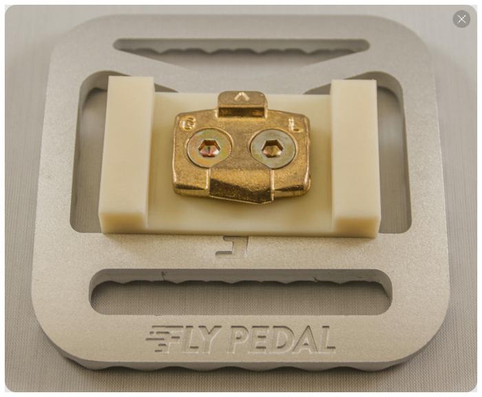 Protótipo final do Fly Pedal. Foto: Kickstarter