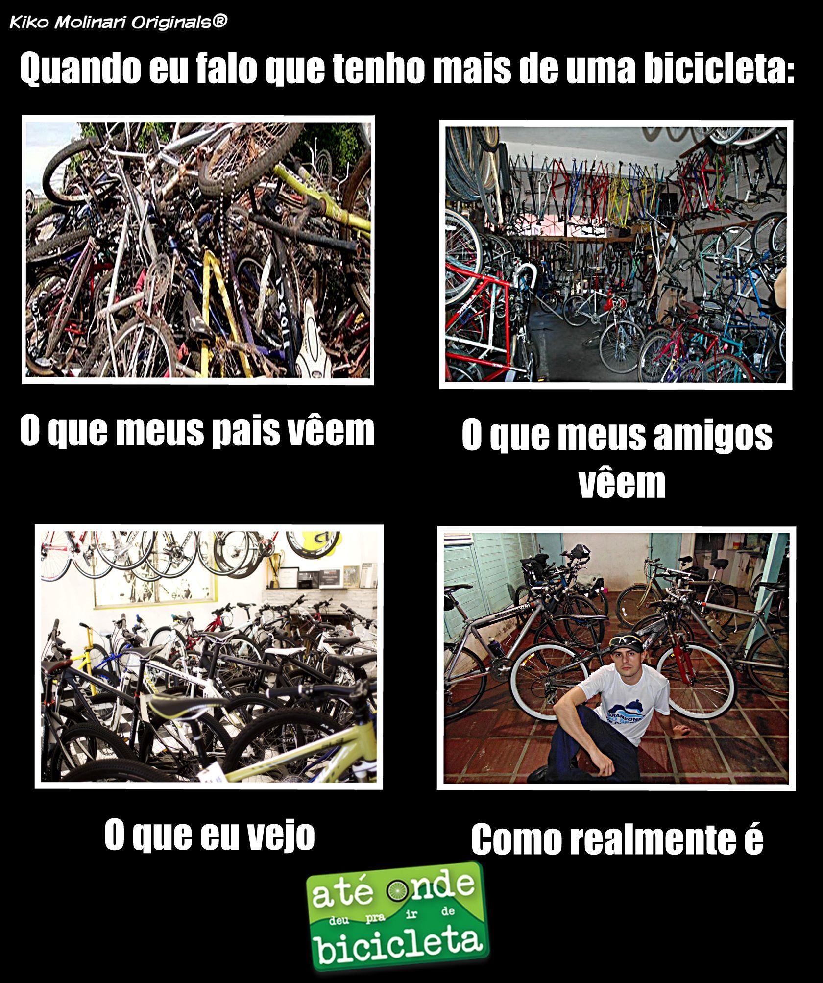 Bike memes - ter mais de uma bicicleta