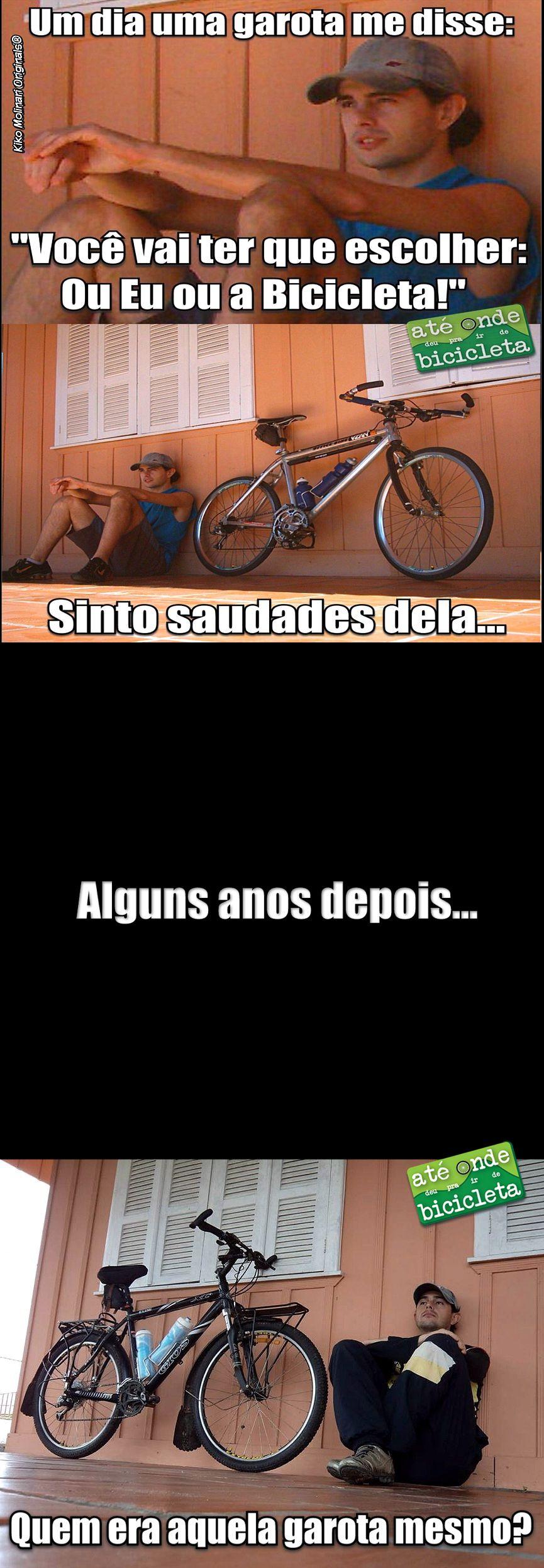 Bike Memes - Ou Eu ou a Bike 2