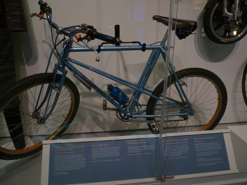 Breezer JB #1, a 1ª Mountain Bike já fabricada. Fonte: http://forums.mtbr.com/vintage-retro-classic/breezer-1-photos-622039.html
