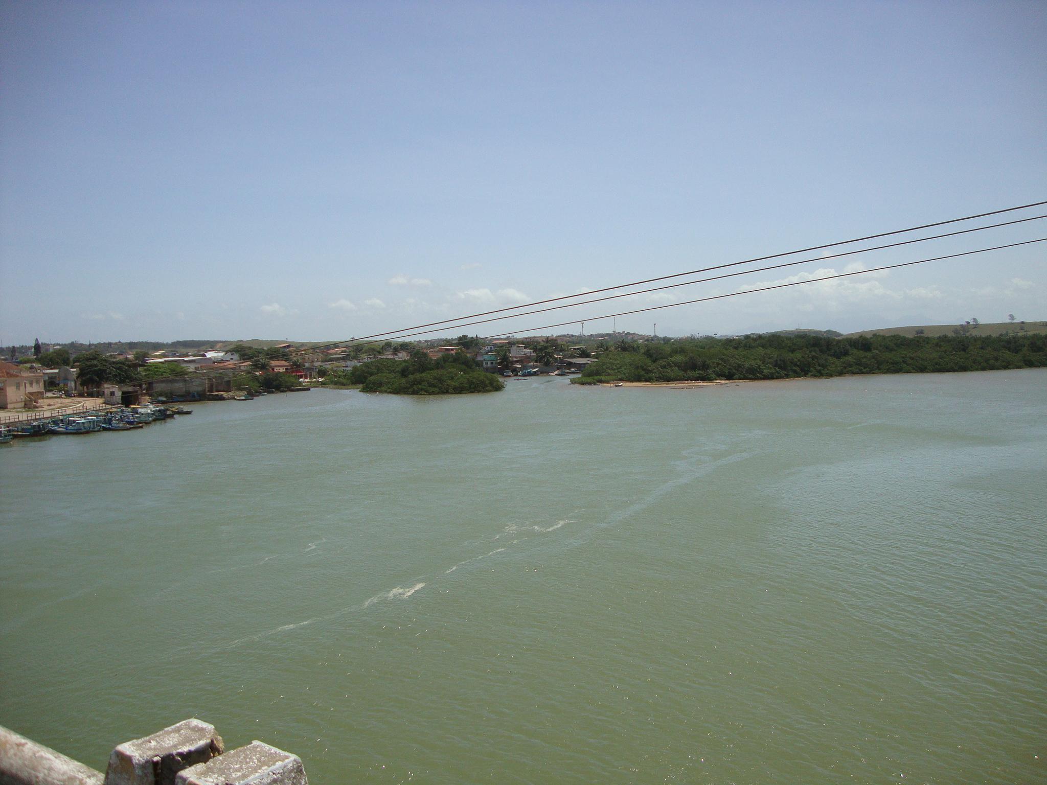 Rio Iconha, em Piúma (ES). Foto: Alfred Carstens