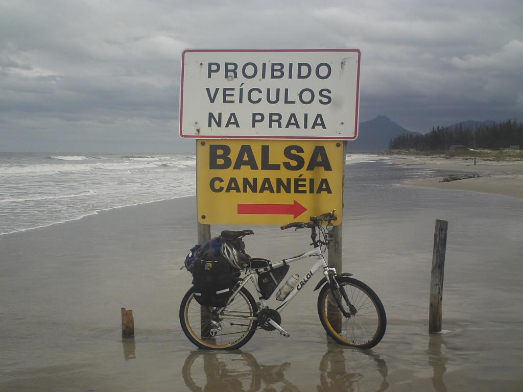 De Praia Grande a Paranaguá.