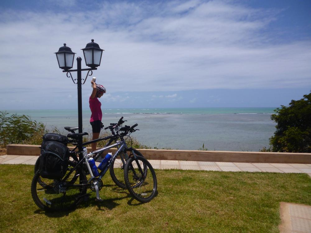 Cicloviagem pela Costa dos Corais. Foto: Acervo pessoal Luiz Eugênio Santos