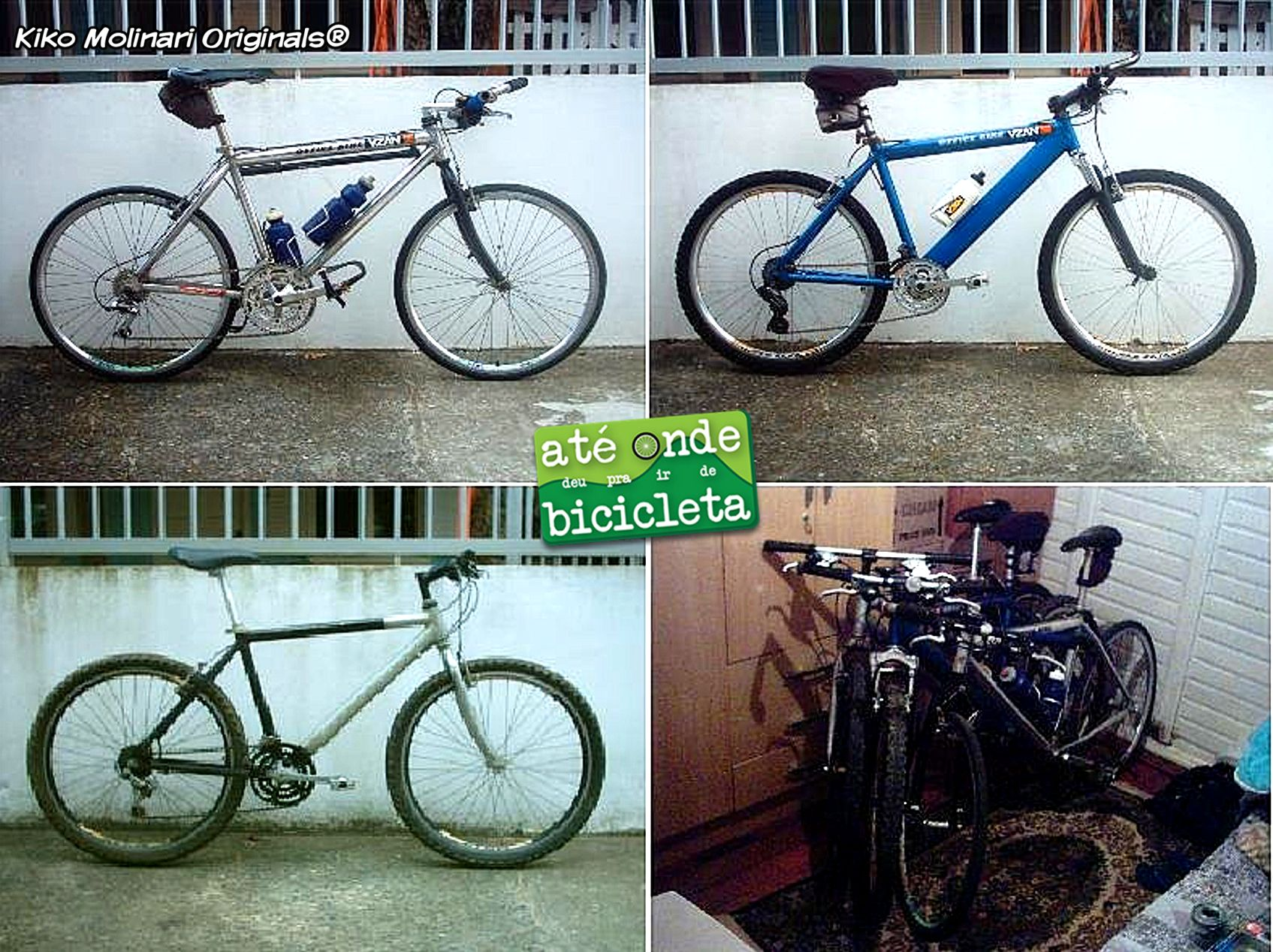 Trio de bikes