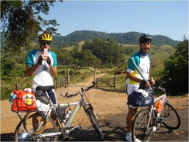 Cicloturismo: de Barra Bonita a Aparecida (SP)
