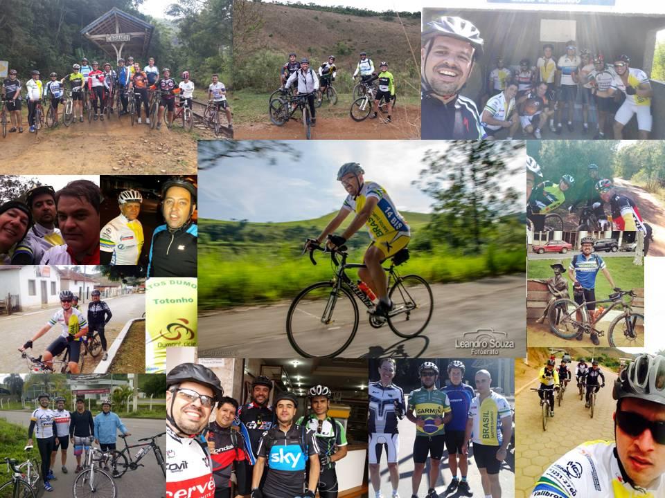 motivando os amigos para o ciclismo
