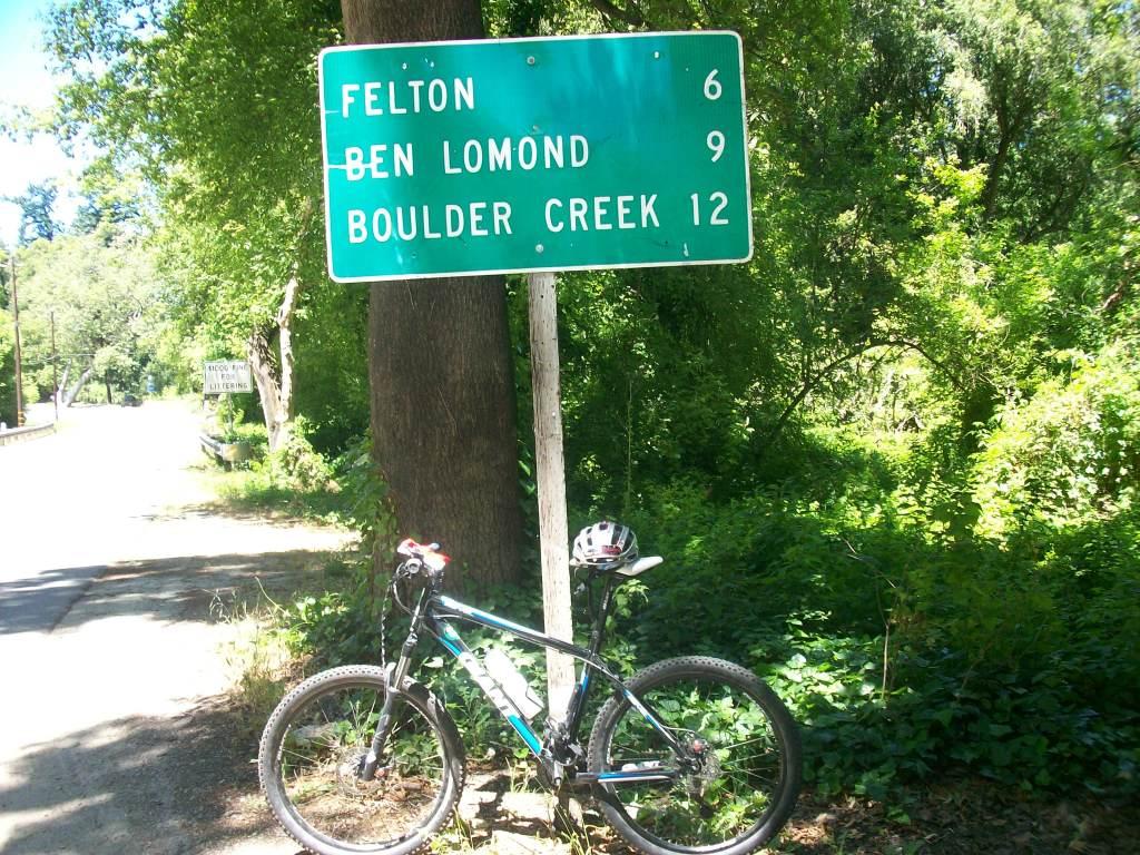 Mountain Bike em Santa Cruz