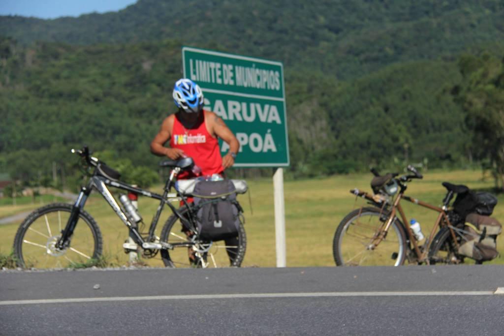 Como eu descobri o cicloturismo