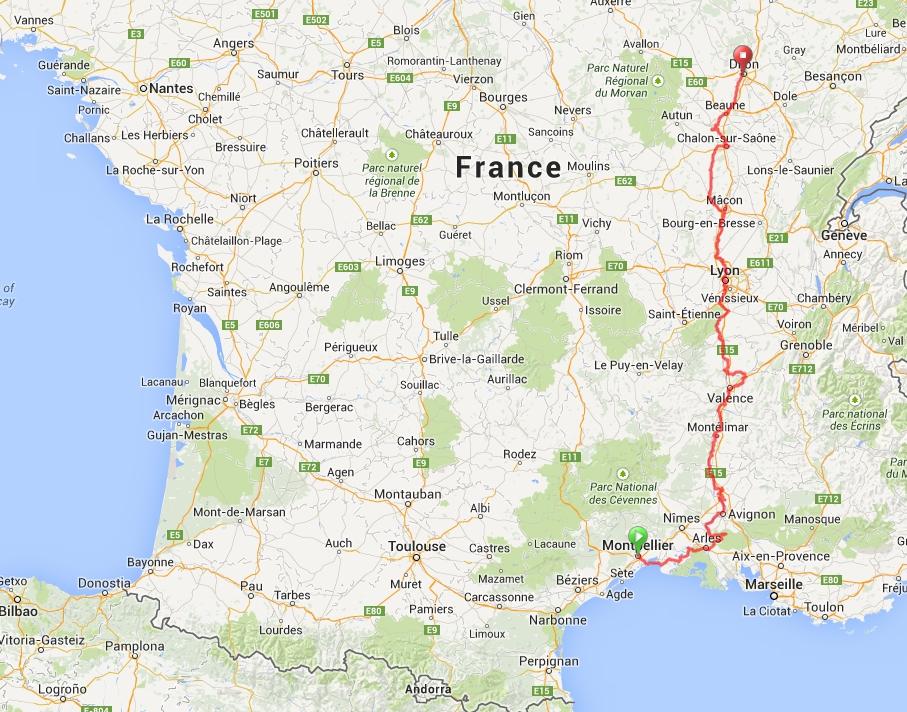 Cicloturismo na França