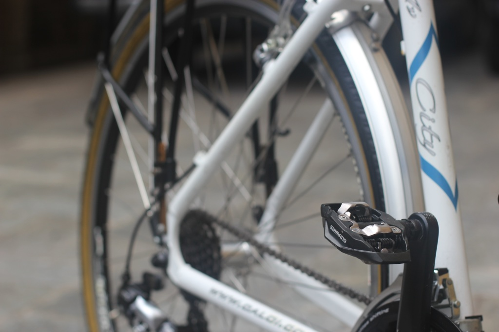 Pedal Shimano M530. Foto: André Schetino