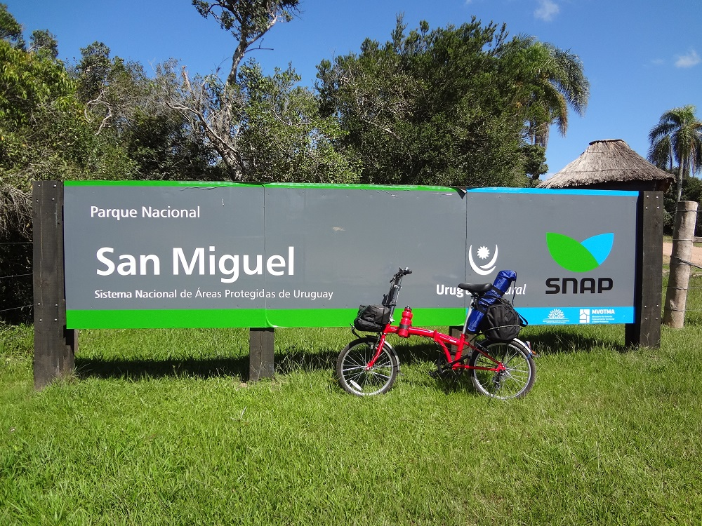 bicicleta dobrável no uruguai