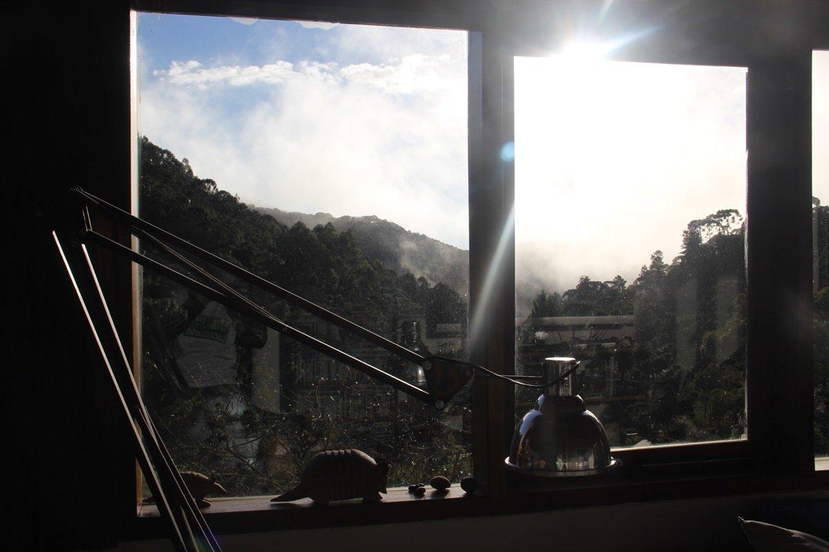 Paisagem da janela... Foto: André Schetino