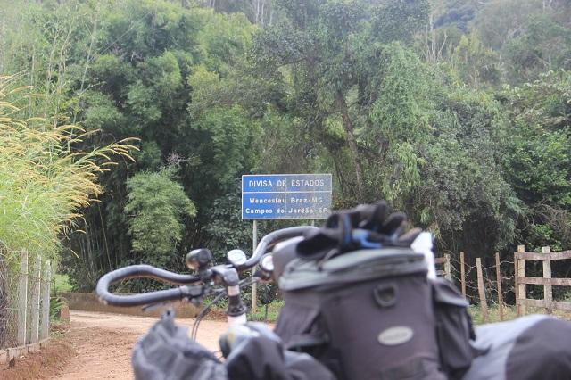 Saindo de Minas e entrando em São Paulo. Foto: André Schetino